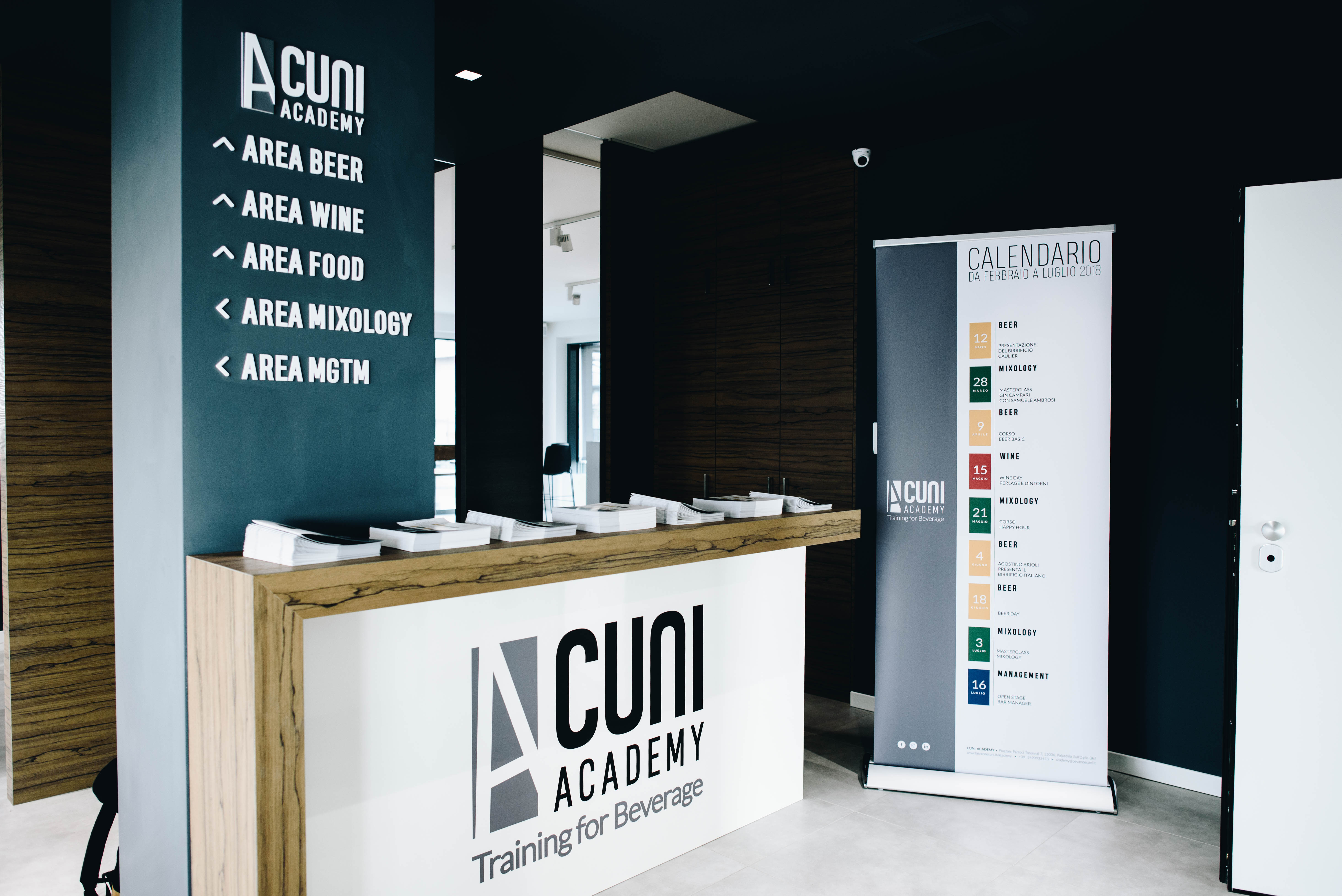 Cuni Academy – la nuova scuola dedicata al mondo del beverage