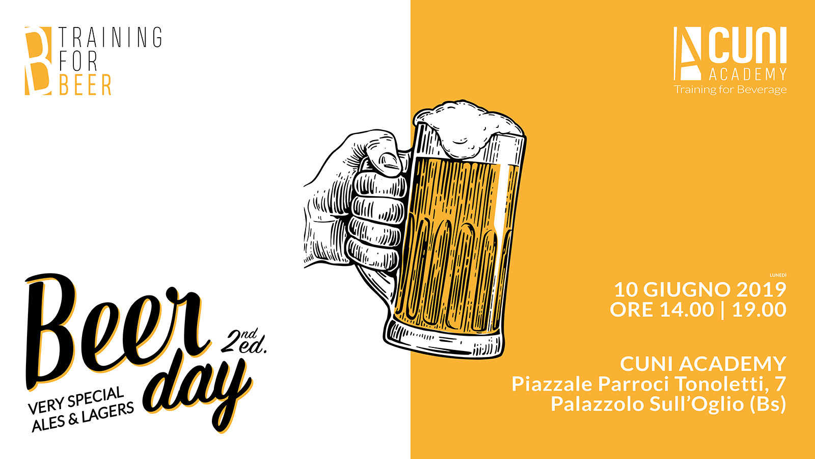 Beer Day – Very Special Ales & Lagers – 10 giugno 2019